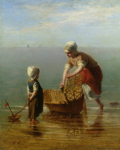 israels_jozef_mother_and_child_by_the_sea_oil_on_canvas-large